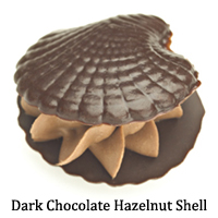 Dark Chocolate Hazelnut Shell