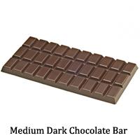 Medium Dark Chocolate Bar