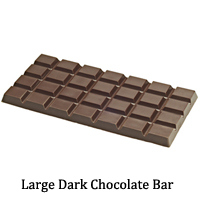 Large Dark Chocolate Bar