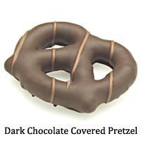 Dark Chocolate Covered Pretzel
