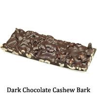 Dark Chocolate Cashew Bark
